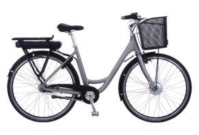 Kildemoes City EL 7 gear med forhjulsmotor- 2018 - dame - Grå
