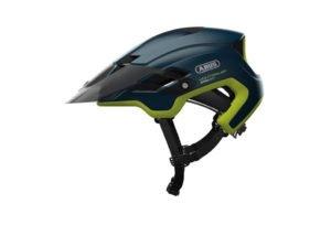 ABUS Montrailer cykelhjelm i blå