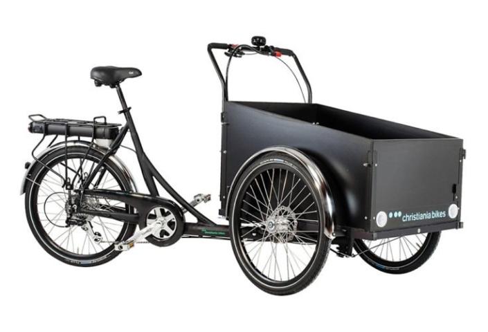 Christiania bikes ladcykel med elmotor