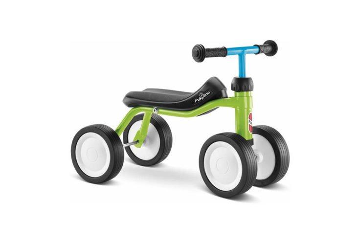 Puky Pukylino - Løbecykel fra 1 år/ 75 cm - Grøn/blå