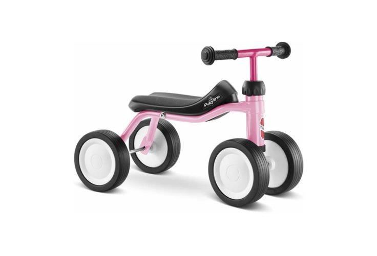 Puky Pukylino - Løbecykel fra 1 år/ 75 cm - Pink