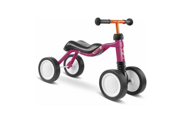 Puky Wutsch løbecykel i pink