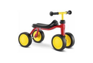 Puky Pukylino - Løbecykel fra 1 år/ 75 cm - Rød/gul