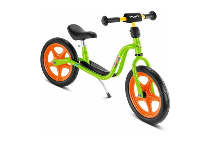 Puky LR 1 - Løbecykel fra 3 år/ 90 cm - Grøn/orange