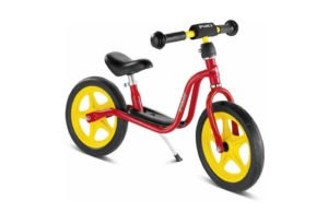 Puky LR 1 - Løbecykel fra 3 år/ 90 cm - Rød/gul