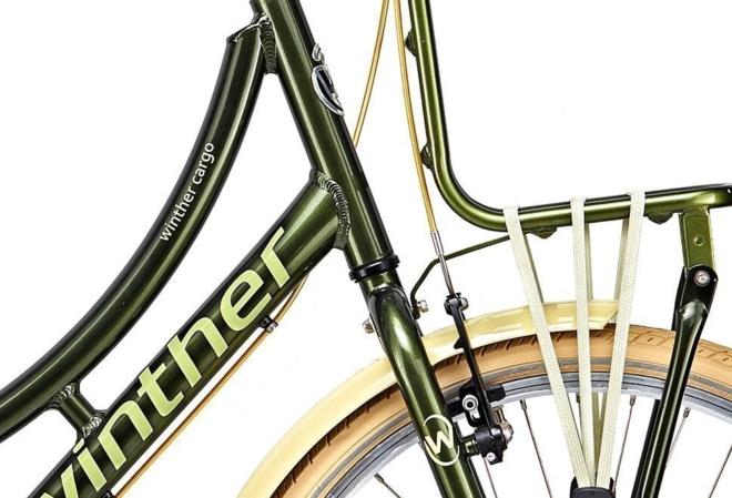 Winther 250 Cargo Nexus 7g Fod 24in Grøn m. lys grøn