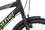 Winther 300 Alu Dreng Nexus 3g Fod 20in Mat sort m. neon grøn/grå