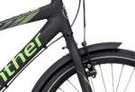 Winther 300 Alu Dreng Nexus 7g Fod 24in Mat sort m. neon grøn/grå