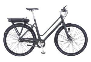 Kildemoes Street EL 7 gear med forhjulsmotor - Dame - Sort