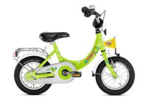 "Puky ZL 12 Alu børnecykel med 12"" hjul i grøn"