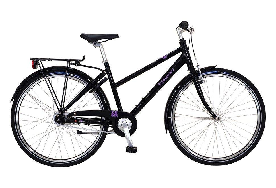 """Kildemoes Bikerz 26"""" 7 gear 2019 - Pigecykel - Sort"""