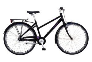 """Kildemoes Bikerz 24"""" 7 gear 2019 - Pigecykel - Sort"""