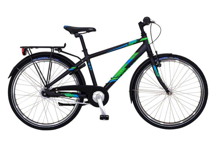 """Kildemoes Bikerz 26"""" 7 gear 2019 - Drengecykel - Sort"""