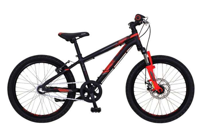 "Kildemoes Intruder MTB 20"" 3 gear 2019 - Soft Black Red"