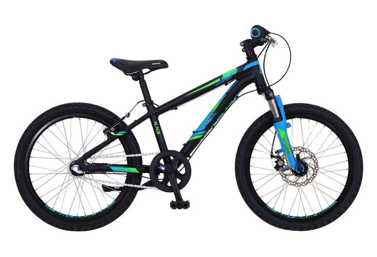 "Kildemoes Intruder MTB 20"" 3 gear 2019 - Soft Black Blue"