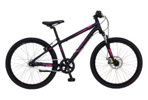 "Kildemoes Intruder MTB 24"" 7 gear 2019 - Soft Black Purple"