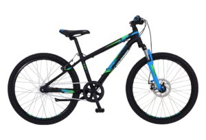 "Kildemoes Intruder MTB 24"" 7 gear 2019 - Soft Black Blue"