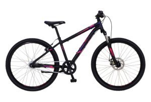 "Kildemoes Intruder MTB 26"" 7 gear 2019 - Soft Black Purple"