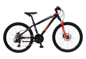 "Kildemoes Intruder MTB 24"" 21 gear 2019 - Soft Black Orange"