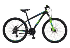 "Kildemoes Intruder MTB 26"" 21 gear 2019 - Soft Black Green"