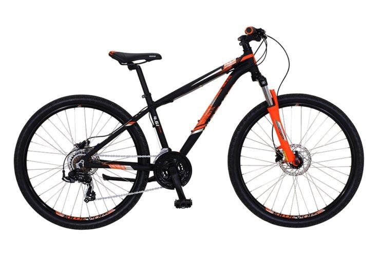 "Kildemoes Intruder MTB 26"" 21 gear 2019 - Soft Black Orange"