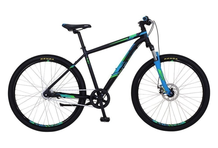"Kildemoes Intruder MTB 27.5"" 7 gear 2019 - Soft Black Blue"
