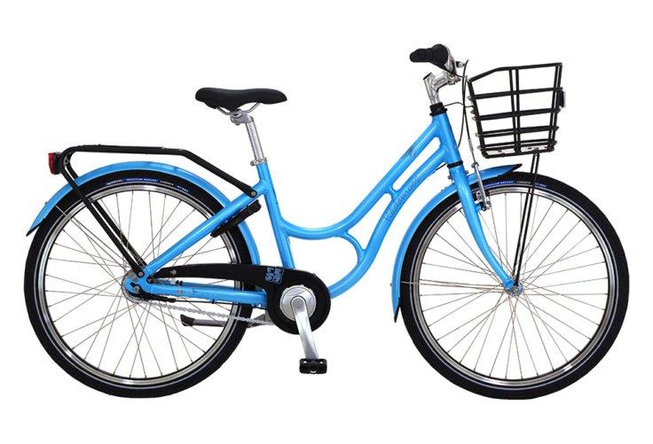 "Kildemoes Bikerz Retro 24"" 7 gear - 2019 - Pigecykel - Sky Blue"