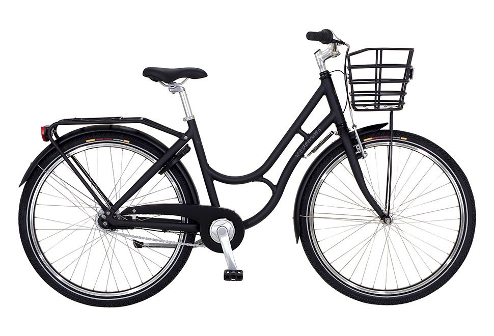 "Kildemoes Urban Teens 26"" 7 gear - 2019 - Pigecykel - Soft Black"