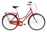 Raleigh Darlington Dame Nexus 7g Fod/V-bremse Blank rød/guld