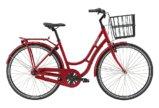 Raleigh Essex Dame Nexus 7g Fod/V-bremse Blank rød m. g