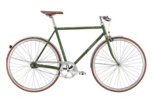 Raleigh Kent Herre Nexus 7g Fod/Kaliber Blank grøn m. mørk grå/sølv