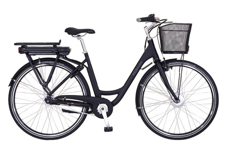 Kildemoes City EL 7 gear - 2019 - Damecykel - Sandy Black Matt