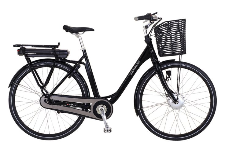 Kildemoes City EL 7 gear - 2019 - Damecykel - Black