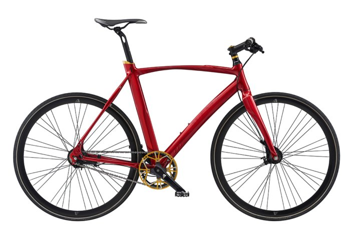 Avenue Broadway Spirit herre 7 gear Nexus rullebremse shiny red