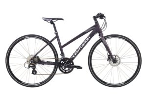 Centurion Basic Fitness Dame 16sp Hydr. disc Mørk sort purple