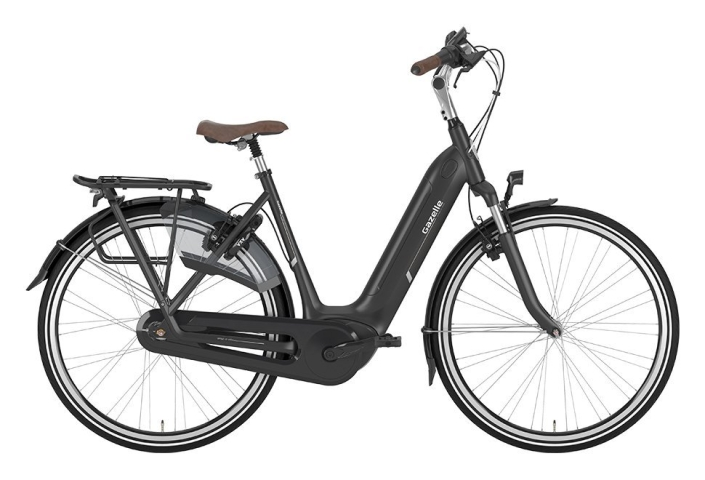 Gazelle Arroyo C7+ HMB Elite EL 7 gear - 2019 - Damecykel - Sort