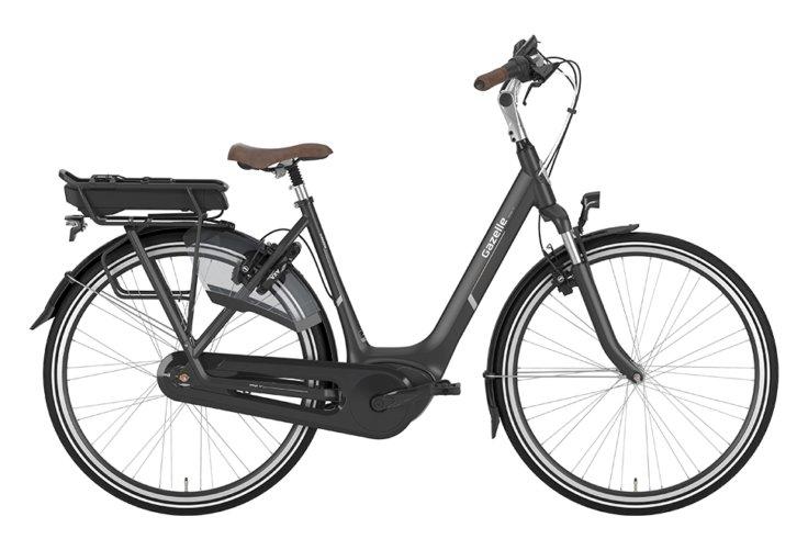 Gazelle Arroyo C7+ HMB EL 7 gear - 2019 - Damecykel - Sort