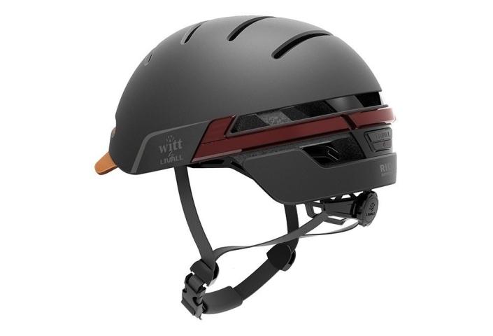 Witt by Livall cykelhjelm Graphite black