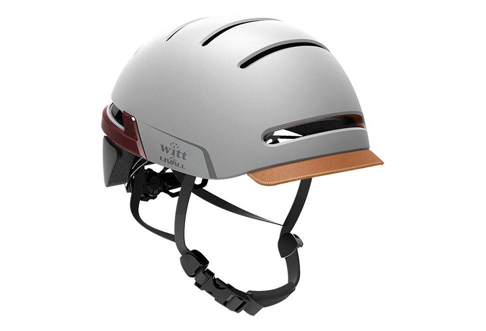 Flot Witt by Livall cykelhjelm med smarte funktioner - Grå FY-14