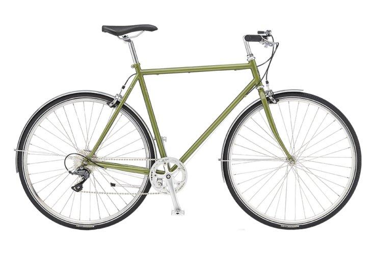 Remington Runwell Sport Mixte 8 gear - Herrecykel - Grøn