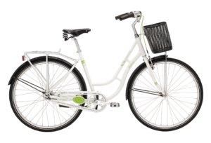 Eco2bike Retro 7 gear - 2018 - Dame - Hvid