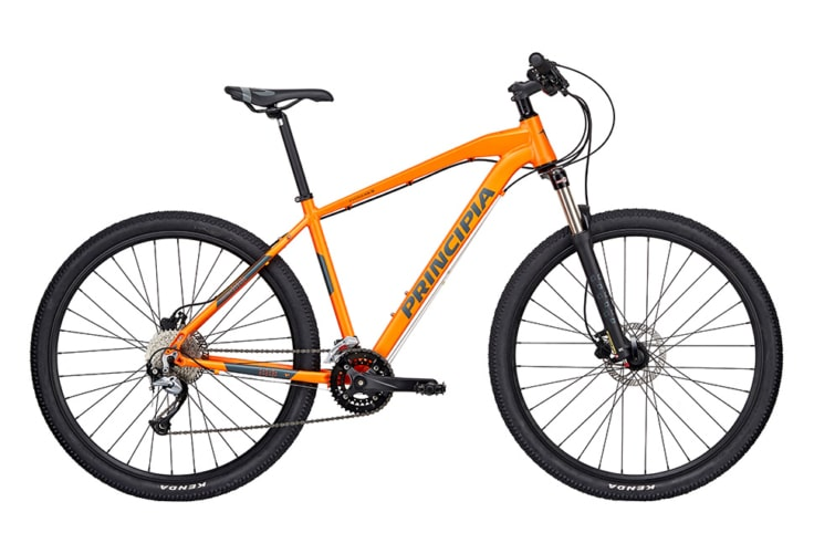 Principia Evoke A5.9 Air 29in Acera 2x9sp Hydr. disc Orange m. sort