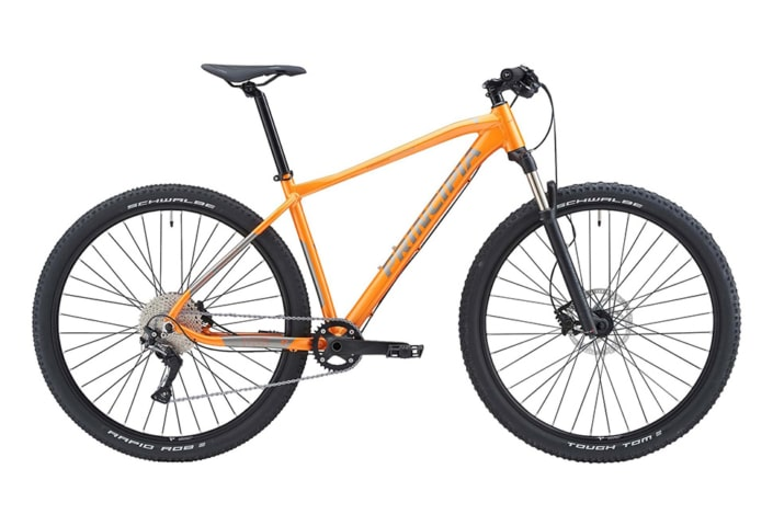 Principia Evoke A8.9 Air 29in SLX 1x11sp Hydr. disc Orange m. grå