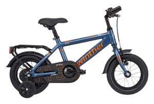 Winther 150 Dreng 12in 1 gear Mat blå m. orange