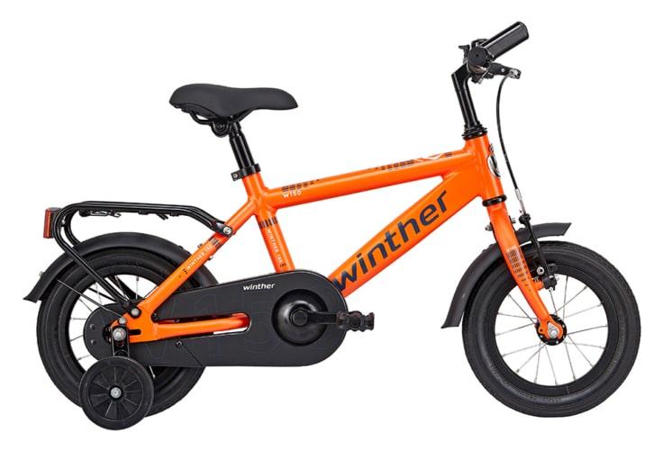 Winther 150 Dreng 12in 1 gear Orange m. blå
