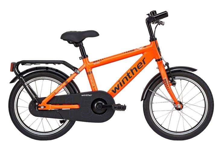 Winther 150 Dreng 16in 1 gear Orange m. blå