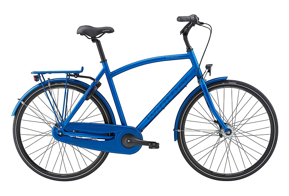 Blue Winther 5 herre Nexus 7g Fod/RB Dyn. forl Mat blå m. blank blå