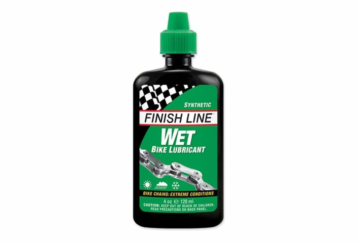 Olie Finish Line Cross Country Wet 120ml drypflaske grøn