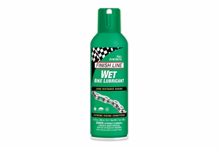 Olie Finish Line Cross Country Wet 240 ml sprayflaske grøn