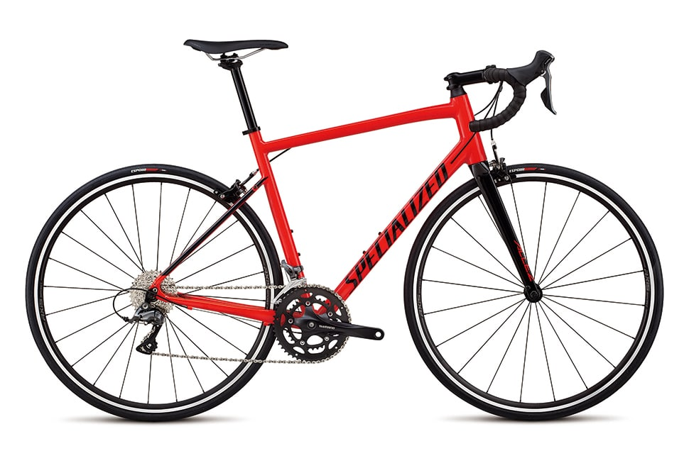 Specialized Allez 16 gear - 2019 - Gloss Rocket Red/Tarmac Black
